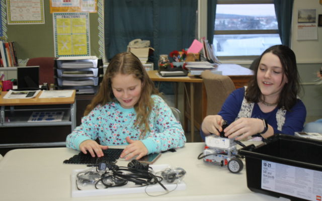 KidzCode Robotics taught to middle schoolers by HardScrabble Solutions Founder Lillie Lavado