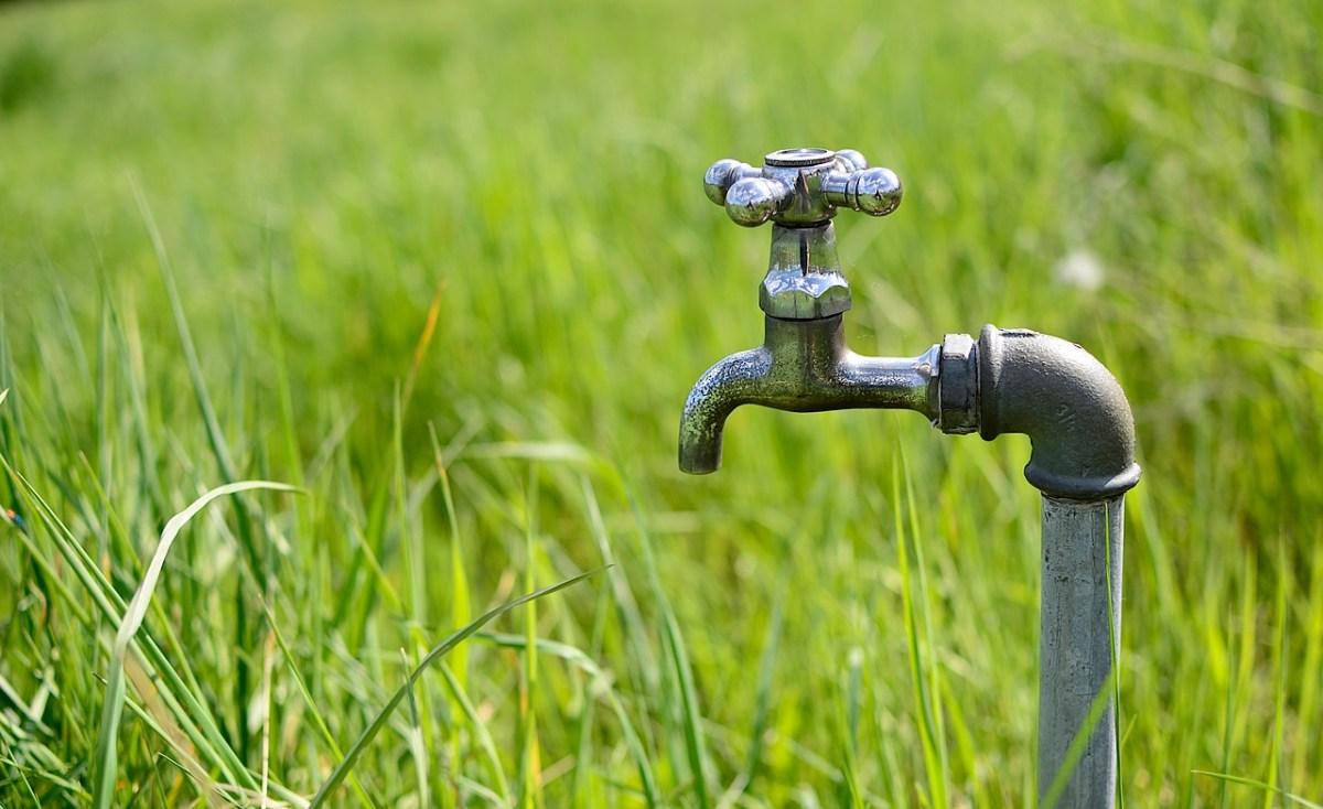 Wir drehen das Wasser ab