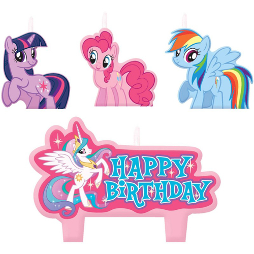 My Little Pony Friendship Is Magic Molded Cake Candle