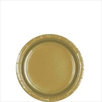 Gold Small Paper Plates (20ct)