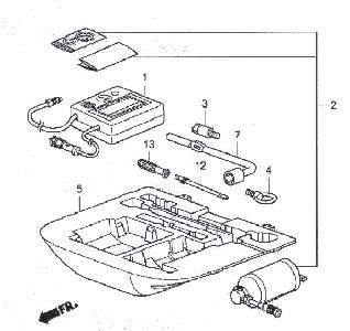 2008 CR Spare tire delete kit
