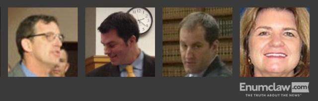 Prosecutor Mark Larson team: Prosecutor Rich Anderson, Prosecutor Jason Simmons, Prosecutor Lisa Johnson