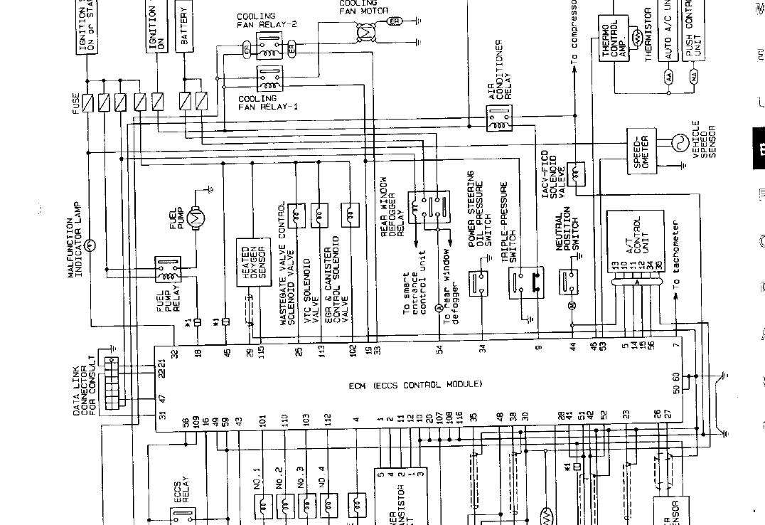 nissan s14 stereo wiring diagram