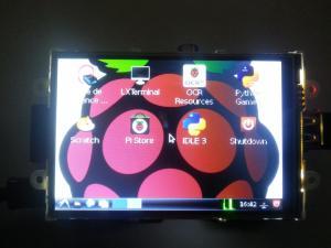 [Raspberry Pi] 4d-Systems 4DPI-35 display module