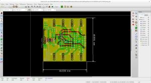 Kicad pour faire ses schéma et PCB en open source