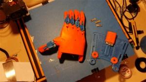 Prothèses de main e-Nable
