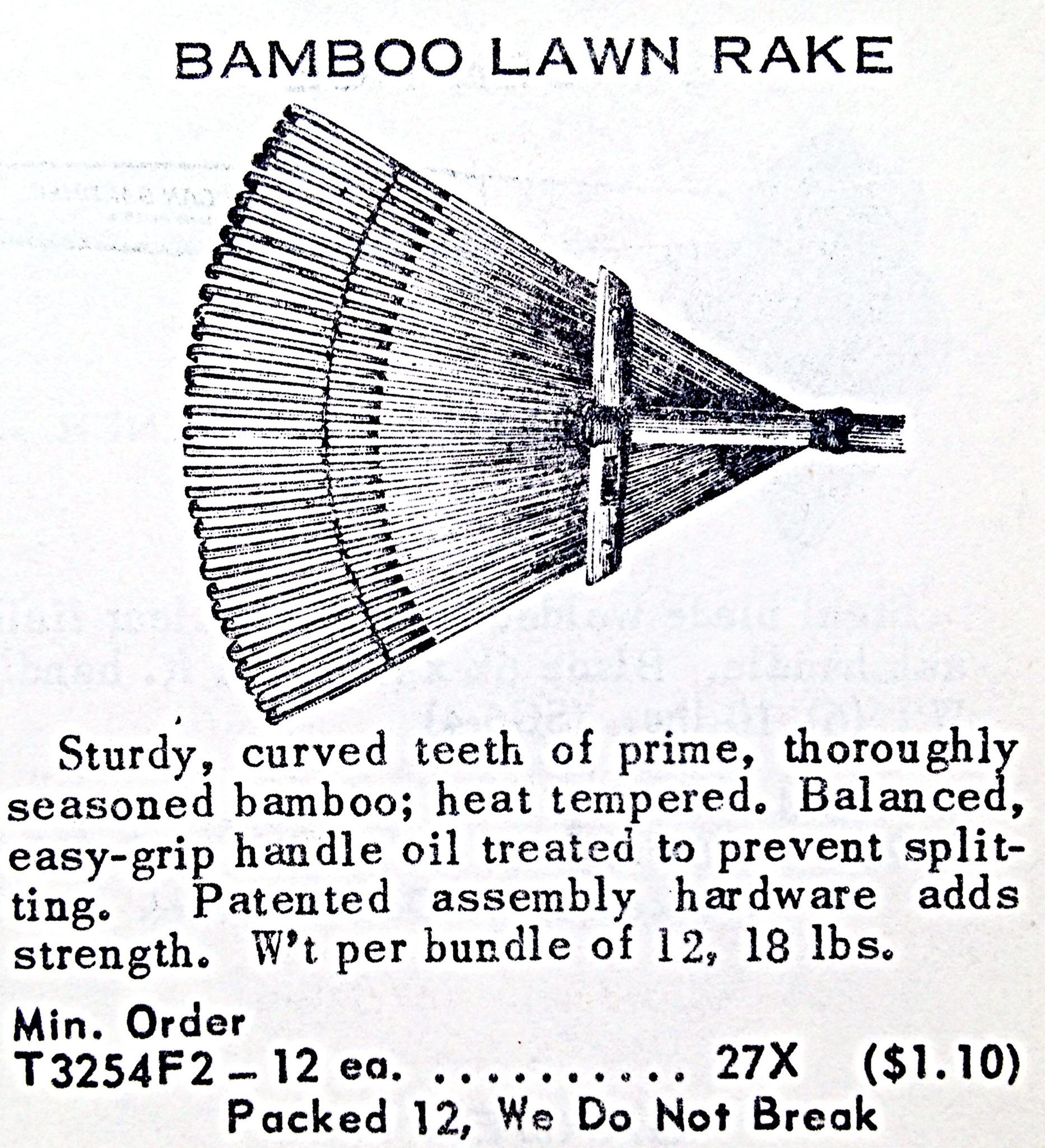 Bamboo Lawn Rake « Hardware Illustrated
