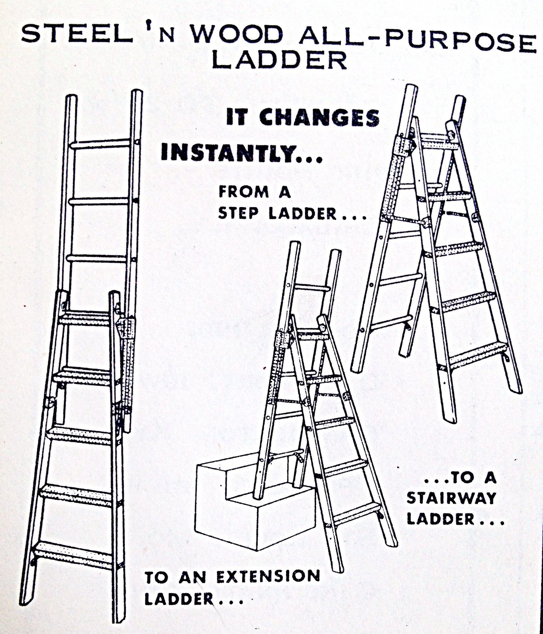 Steel 'N Wood All-Purpose Ladder « Hardware Illustrated