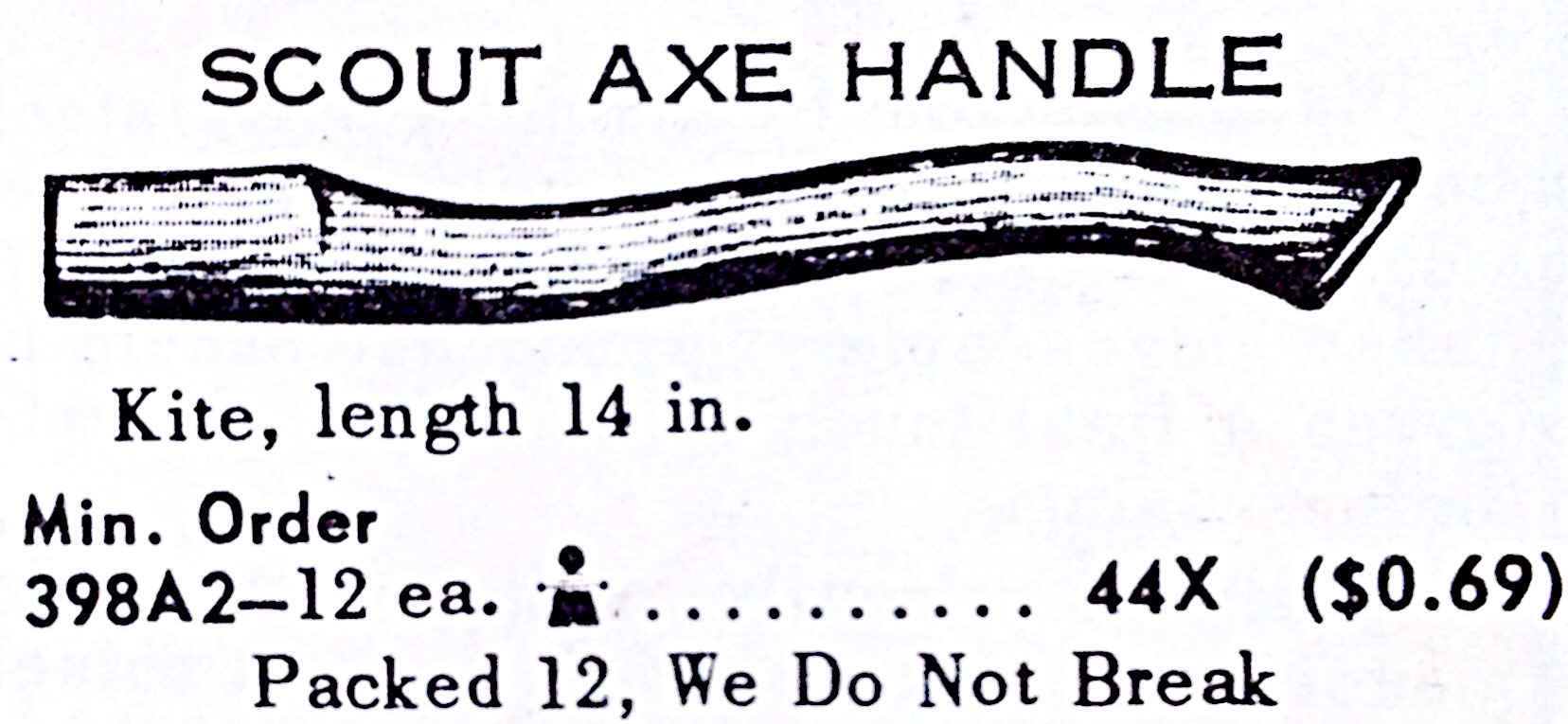 Scout Axe Handle « Hardware Illustrated