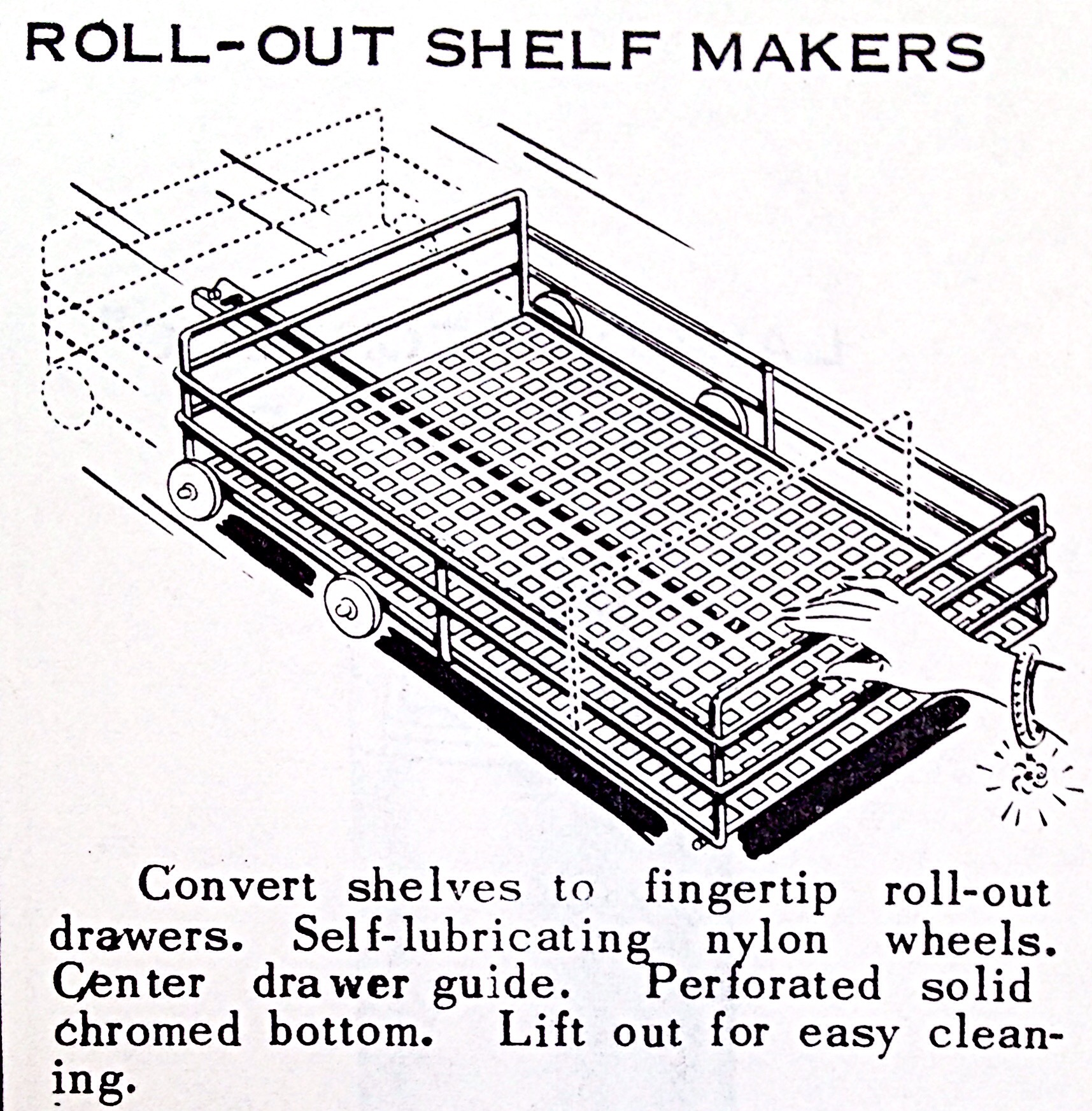 Roll-Out Shelf Makers « Hardware Illustrated