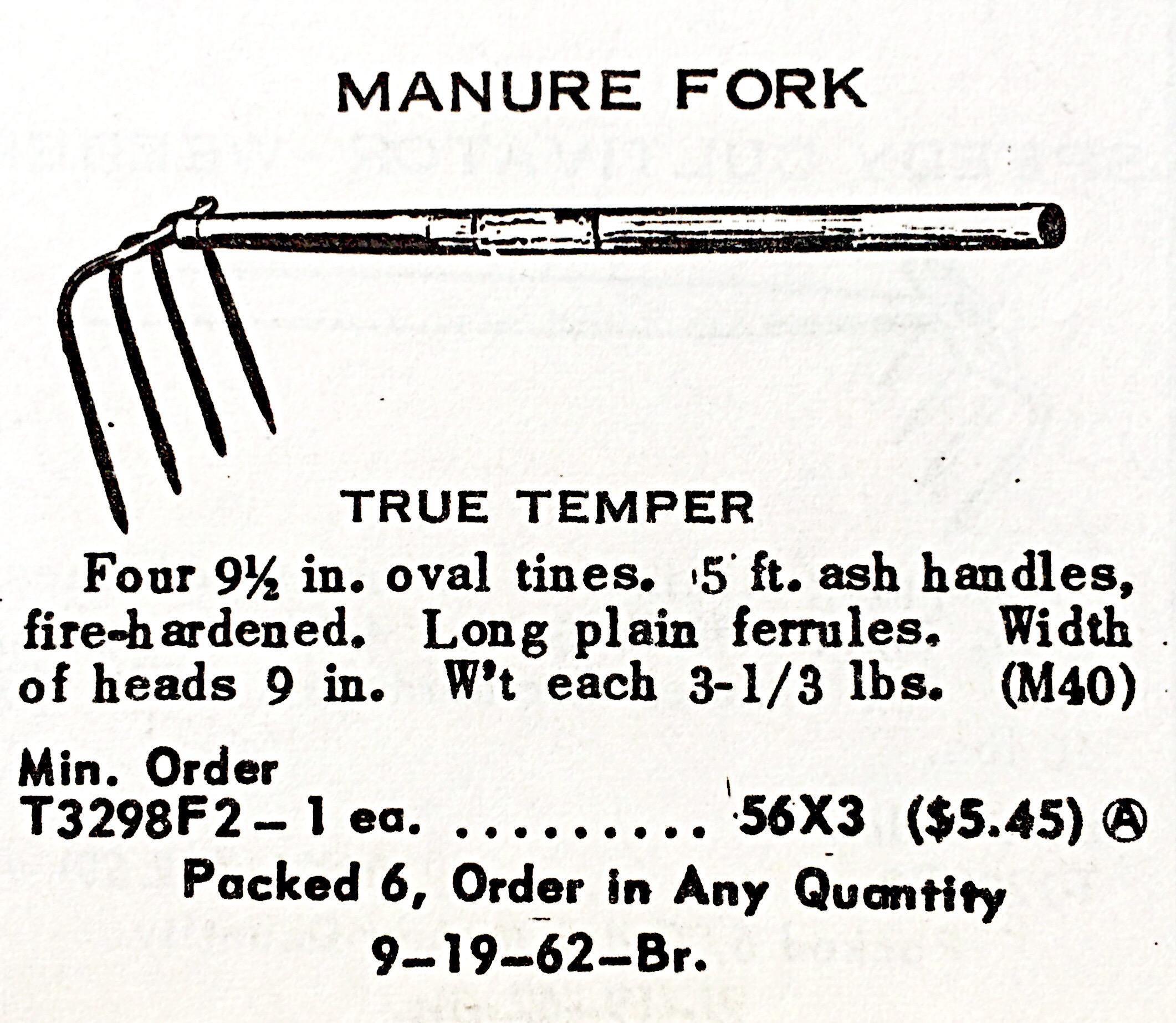 Manure Fork « Hardware Illustrated