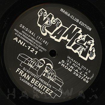 Cover art - DJ Sotofett presents Fran Benitez: Lagrimas Negras