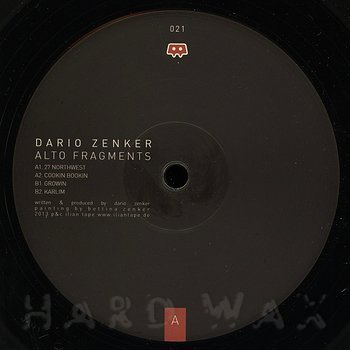 Cover art - Dario Zenker: Alto Fragments