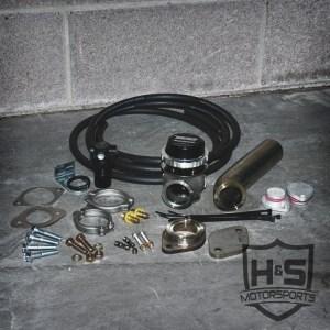 08-10 Ford 6.4L Wastegate Kit-0