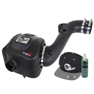 aFe POWER 51-82322-E Diesel Elite Stage-2 Si Pro DRY S Cold Air Intake System 2011-2016 6.6L-0
