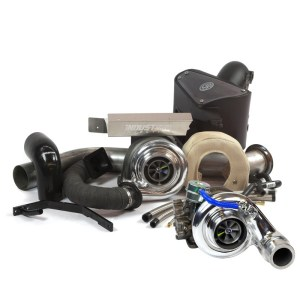 DODGE CUMMINS 6.7L RACE COMPOUND TURBO KIT (2007.5-2012)- Industrial Injection-0