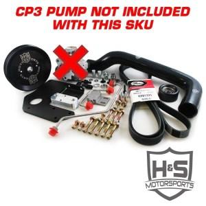 H&S Motorsports 04.5-07 Cummins 5.9L Dual High Pressure Fuel Kit W/O CP3-0