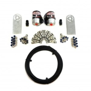 Induction Solutions Dry Two Stage Soft Line Nitrous Plumb Kits-0