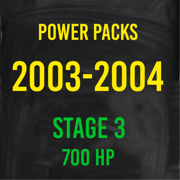 Stage 3 *700HP* Hardway Performance Power Packs for 2003-2004 Cummins-0