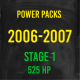 Stage 1 *525HP* Hardway Performance Power Packs for 2006-2007 Cummins-0