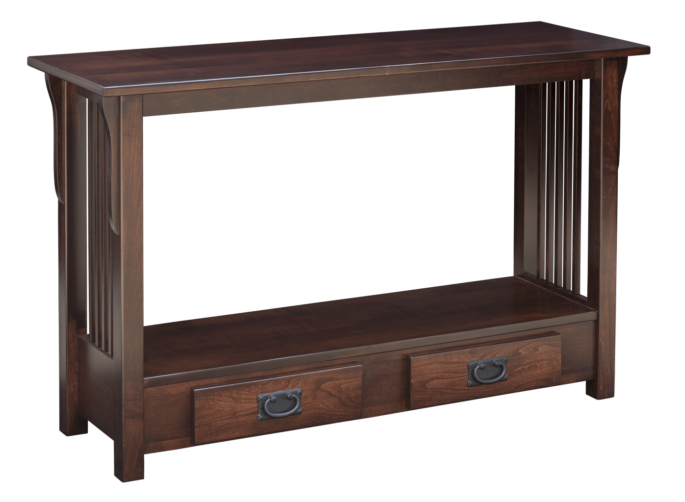 mission sofa table readymade stretch covers uk prairie hardwood creations