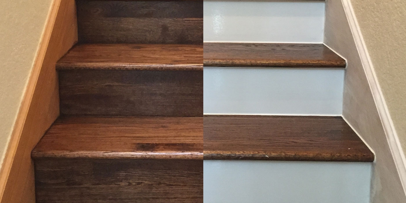 Painting Your Hardwood Stair Risers | Best Wood For Stair Stringers | Primer | Stair Railing | Deck | Porch | Deck Stairs