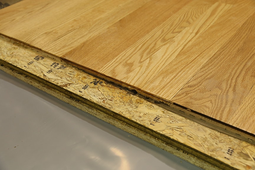 Installing Wood Subfloors Over Concrete  Hardwood Floors