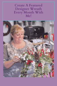 monthly wreath making group