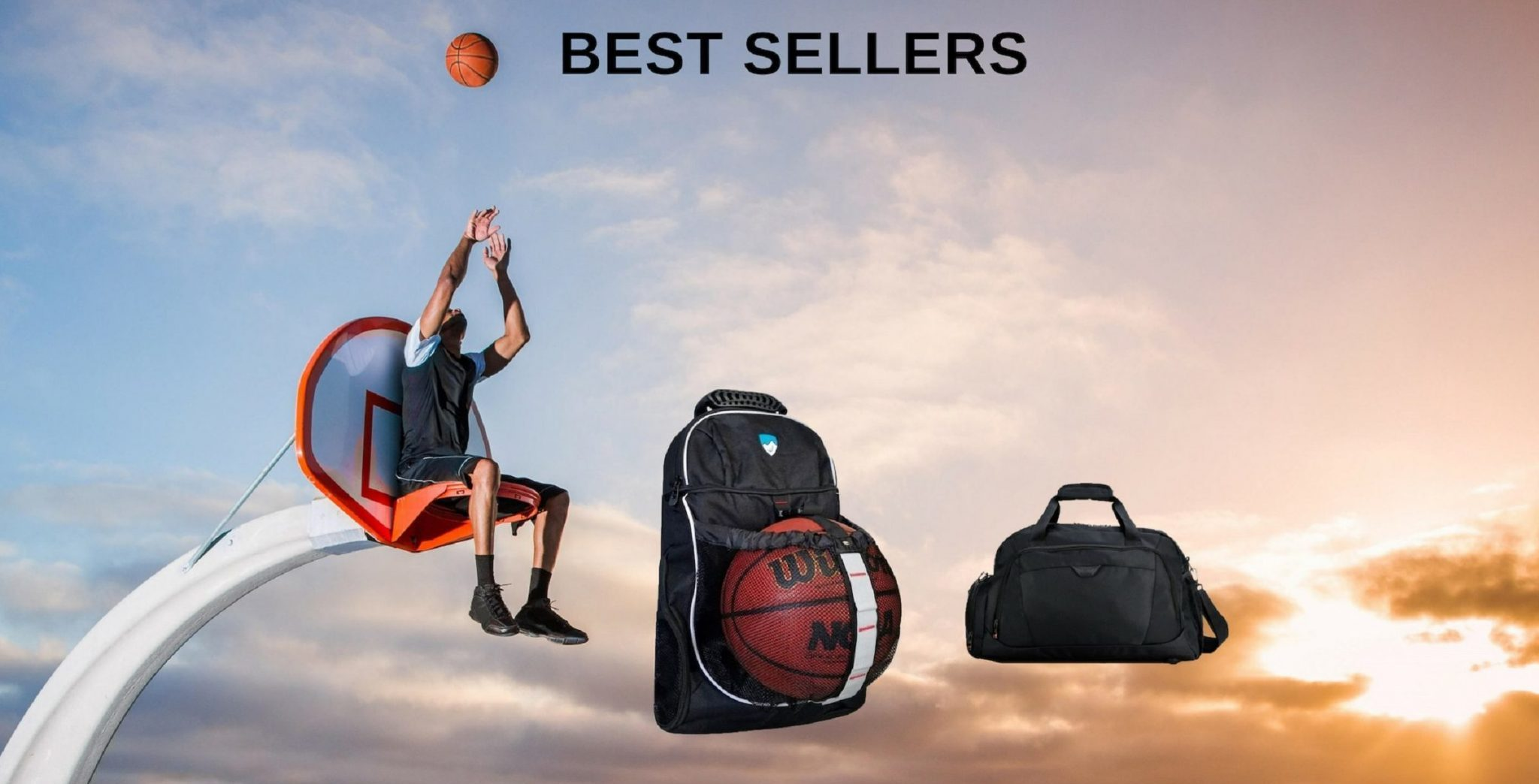 Hard Work Sports Basketball Backpack Duffle Bag Best Sellers