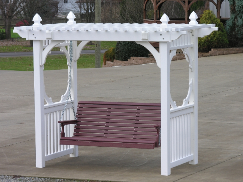 Poly Swings  Hardy Lawn Furniture  Amish Built Lawn