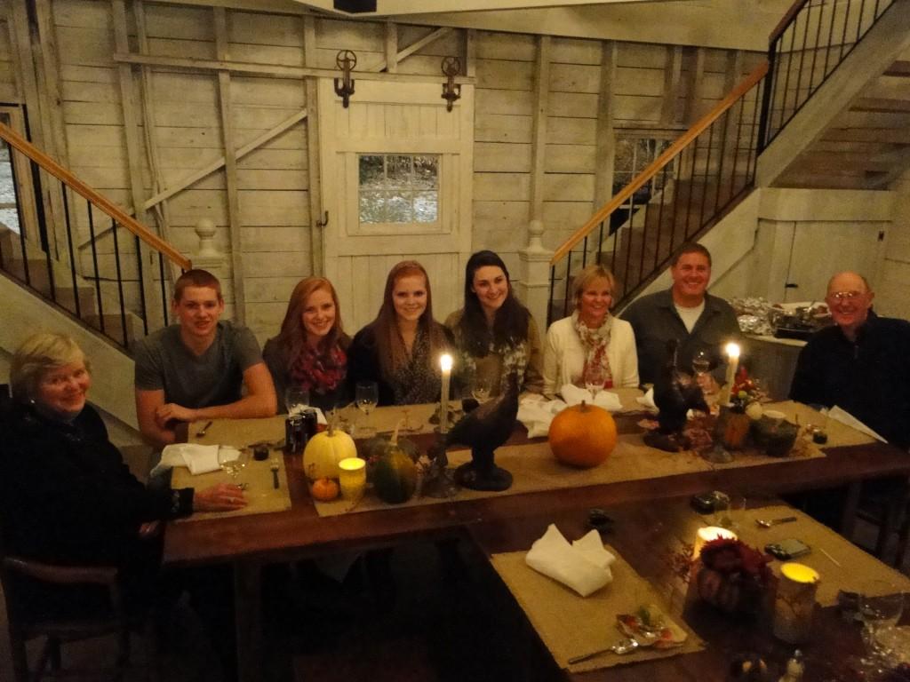 Thanksgiving at Hardy Farm