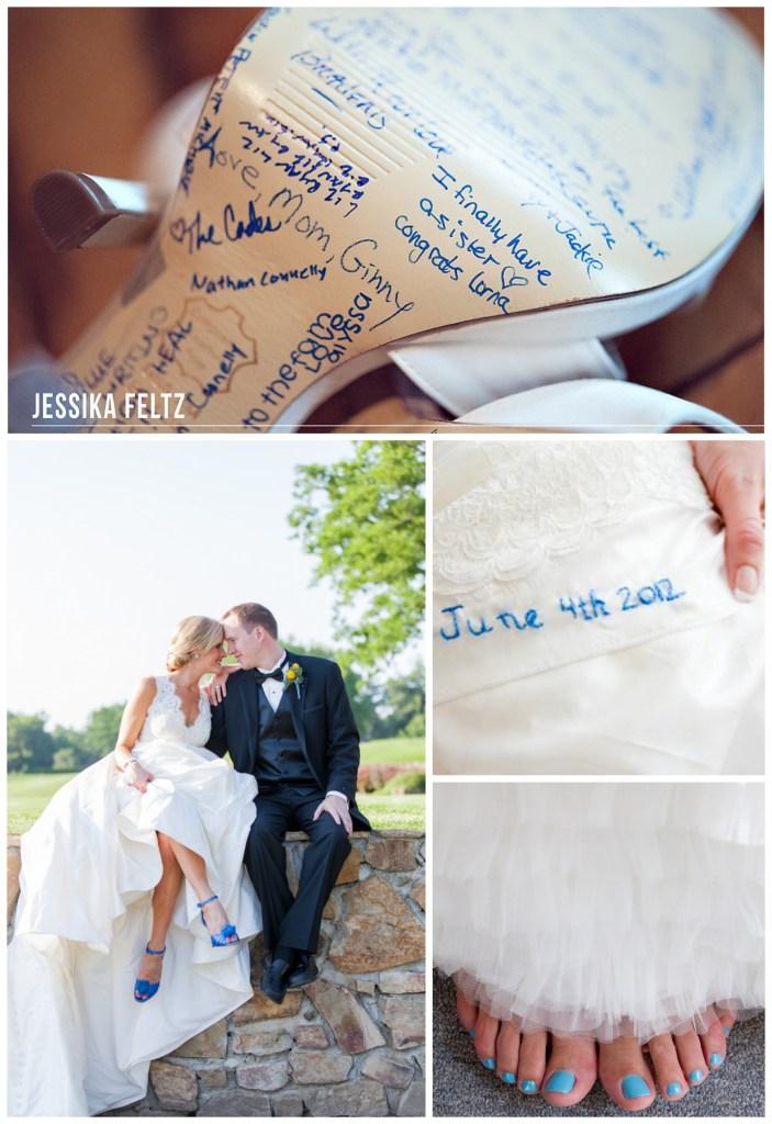 something blue wedding tradition