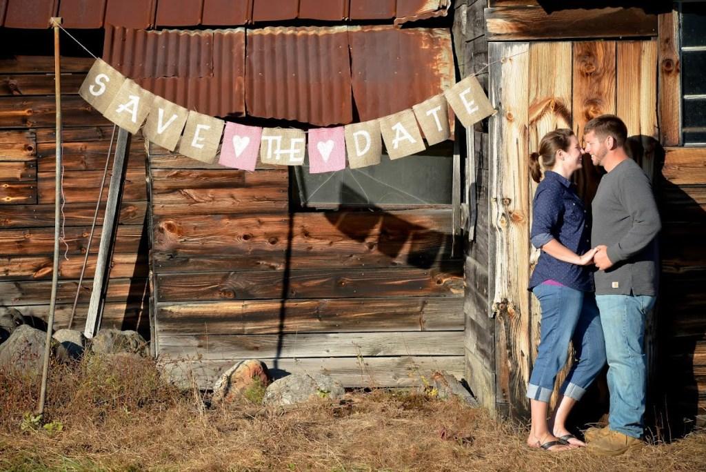 maine rustic barn wedding