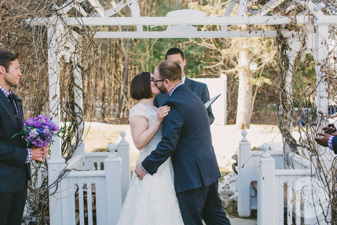 rustic wedding maine