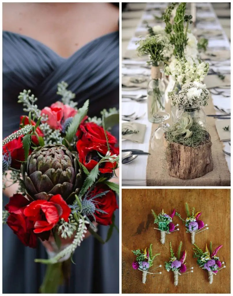 green-wedding-color-Collage
