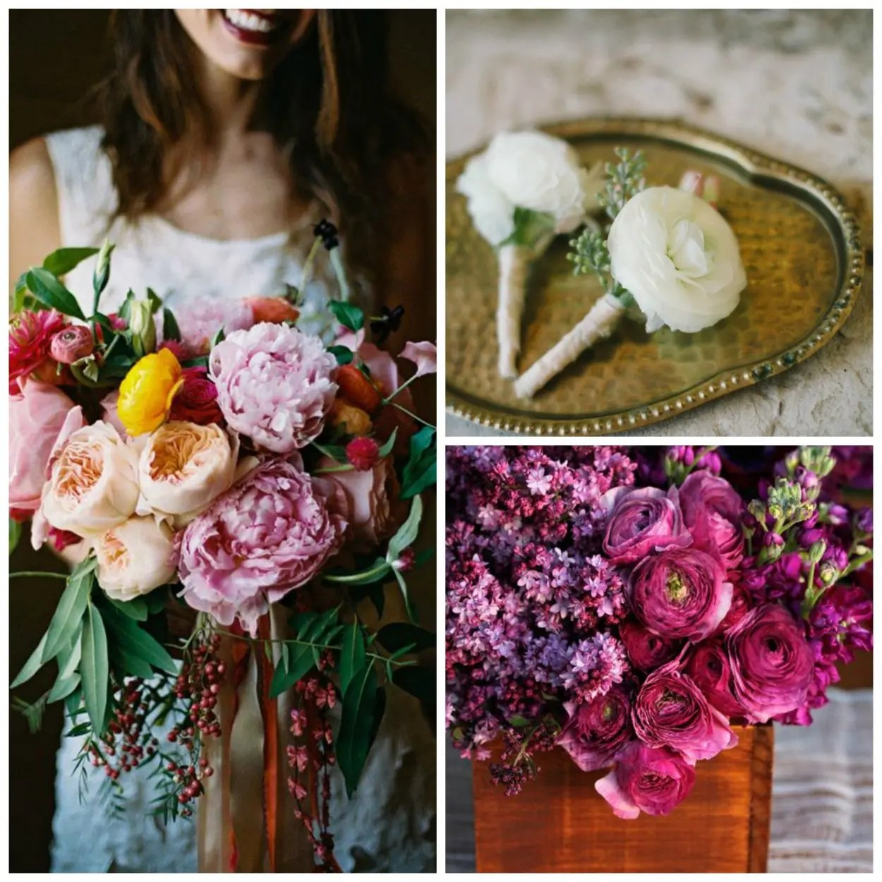 Rustic wedding floral bouquets ranunculus maine wedding venue maine wedding venue izmirmasajfo
