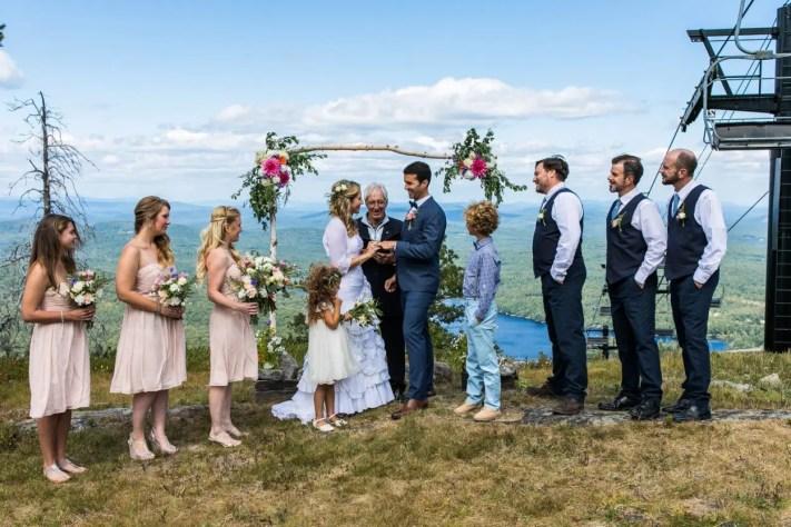 Mountaintop Weddings at Shawnee Peak