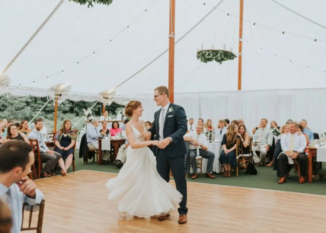 Tent Weddings In Maine The Sailcloth Tent At Hardy Farm