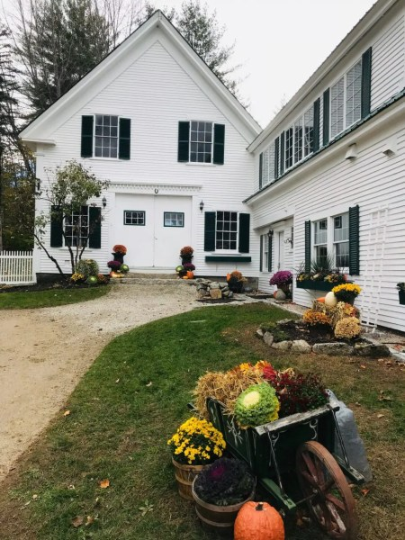 Hardy Farm barn in November