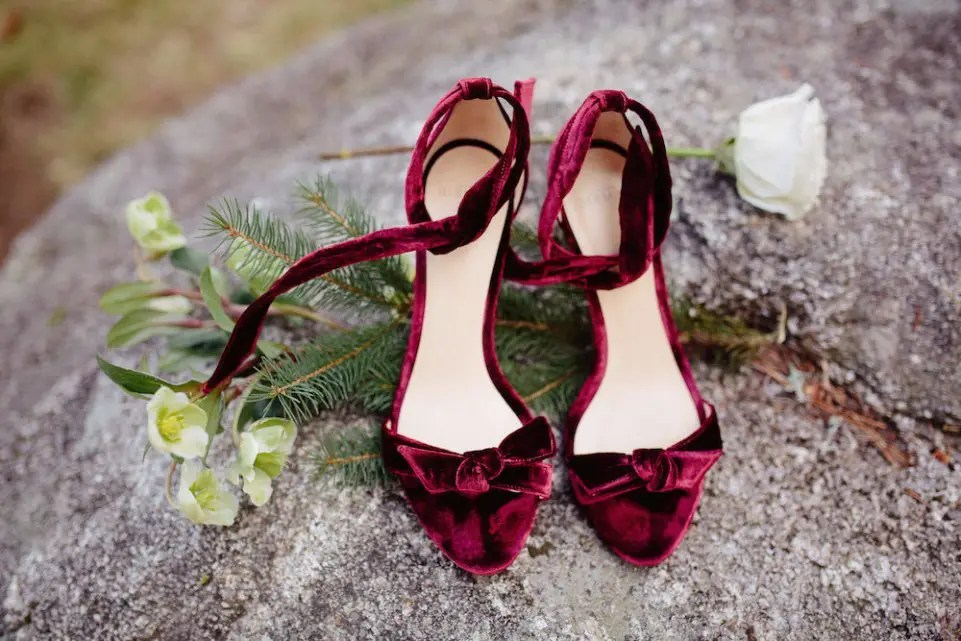 December wedding shoes