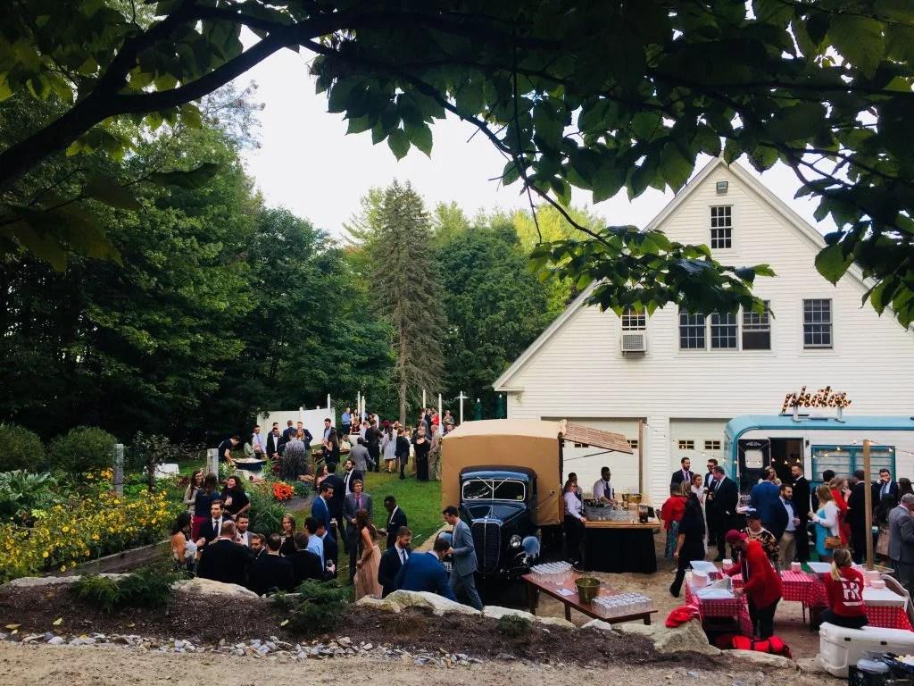 Wedding festival food truck