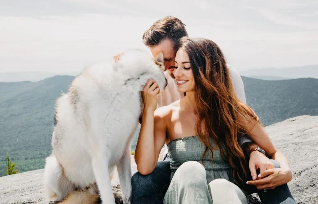 Arron, Emily and Kojo engagement shoot