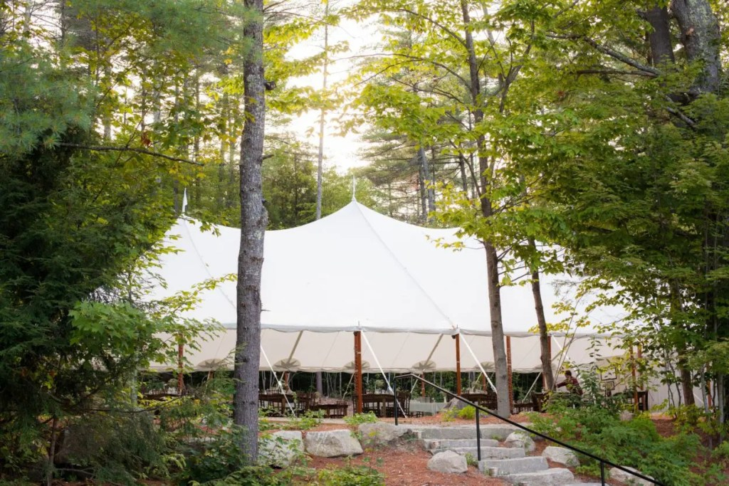 Maine Wedding Tent