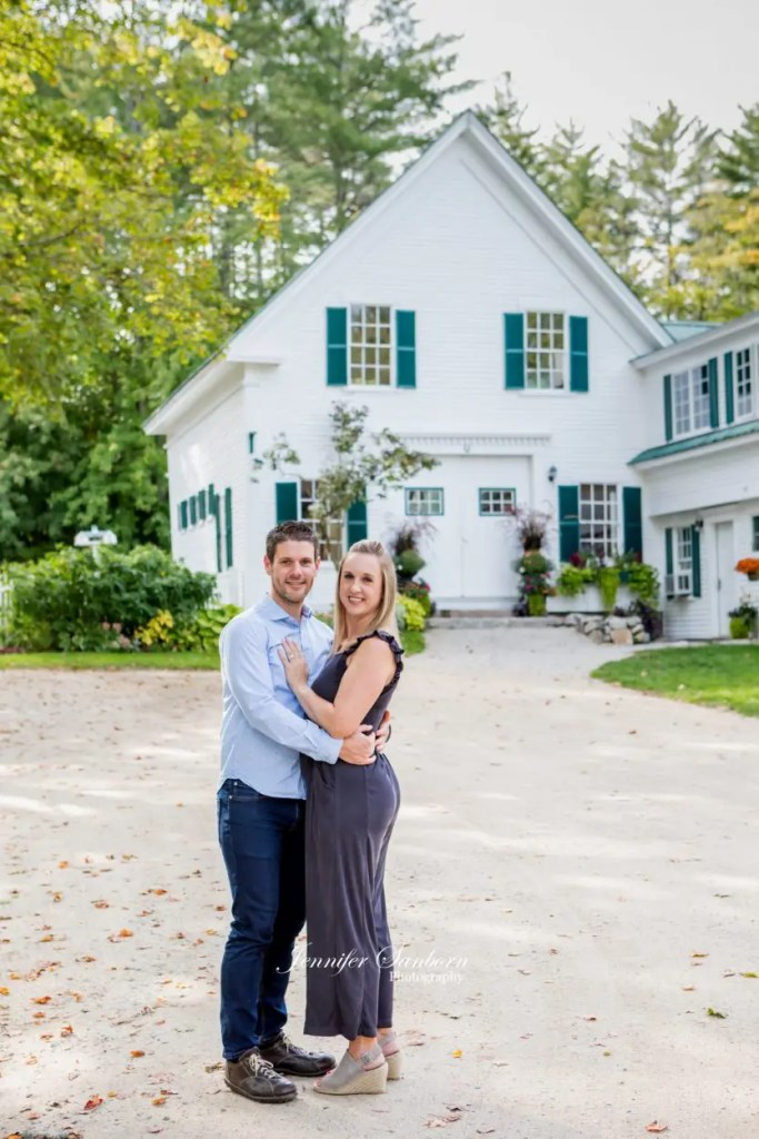 Couple celebrates at their Maine wedding venue