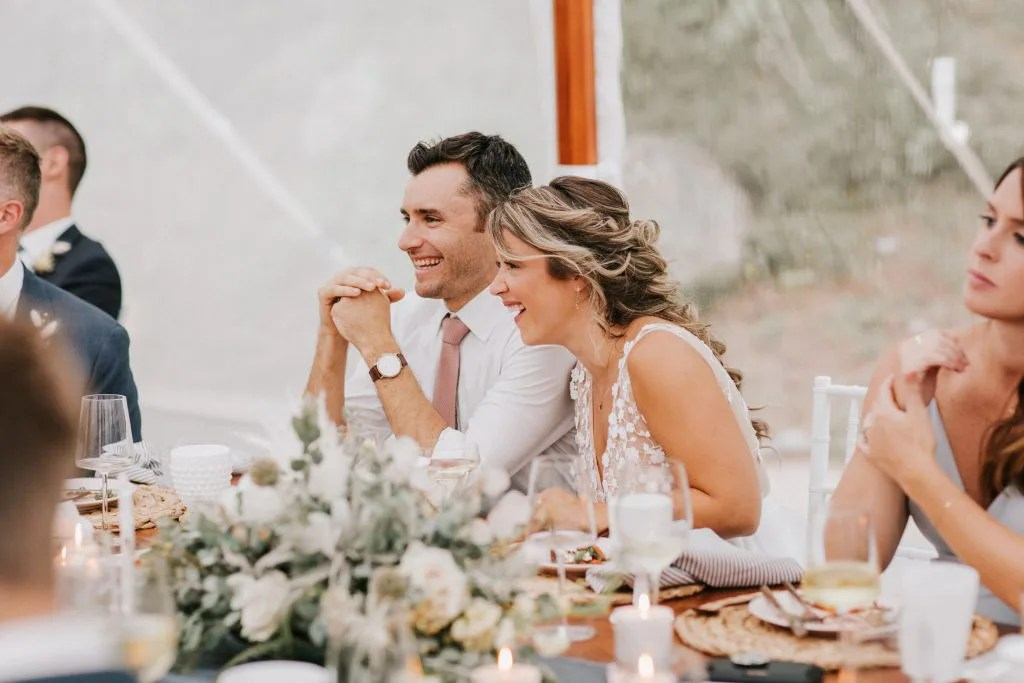 Maine tent wedding catering