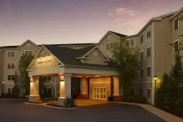 Hampton Inn  Suites North Conway Entrance