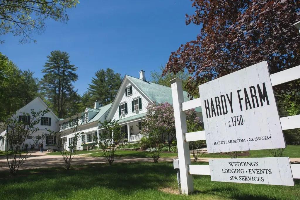 Hardy Farm with lilacs