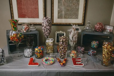 Candy table - Maine wedding