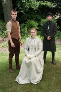 Giles Winterbouren, Grace Melbury and Dr Fitzpiers