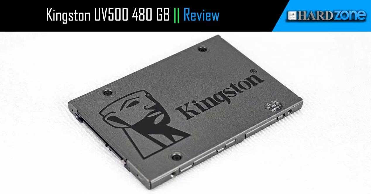 Review: Kingston UV500 480 GB. el SSD más seguro que puedes comprar